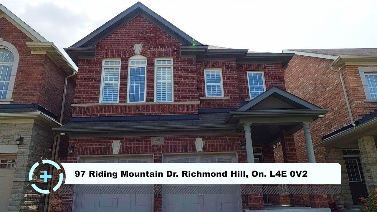 97 Riding Mountain Dr Richmond Hill On L4E 0V2 HD Virtual Tour