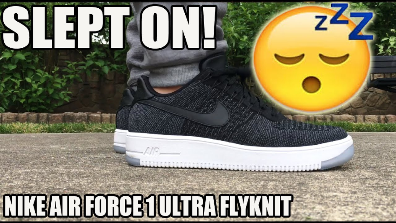 SLEPT ON! BETTER THAN EXPECTED! NIKE AF1 ULTRA FLYKNIT REVIEW / ON FEET