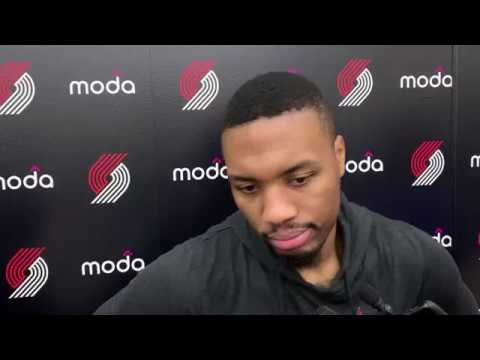 Trail Blazers practice notes: Damian Lillard probable for Wednesday's game vs. Lakers