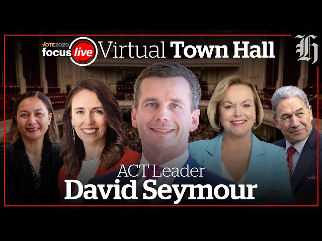 David Seymour answers your questions live   nzherald.co.nz