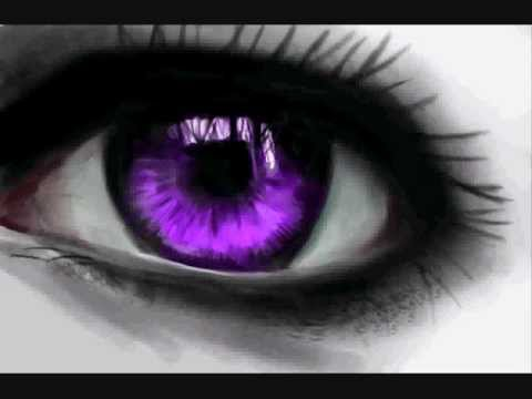 How to draw a realistic eye (Pink Coloring) - YouTube
