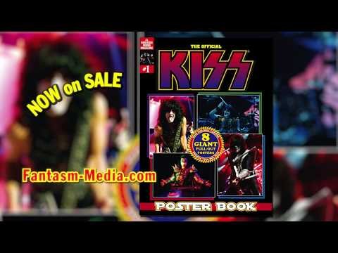 FANTASM presents The Official KISS Poster Book