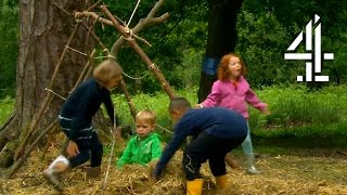 The Kids Build A Den | The Secret Life of Brothers and Sisters