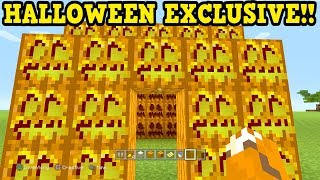 Minecraft Xbox 360 / PS4 EXCLUSIVE! Halloween Only Features