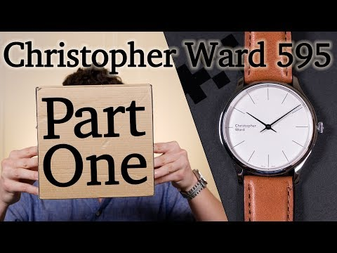 Christopher Ward C5 Malvern 595 - Part One - Unboxing & First Impression