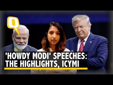 'Howdy Modi': Key Highlights of PM Modi & Trump's Speeches, ICYMI | The Quint