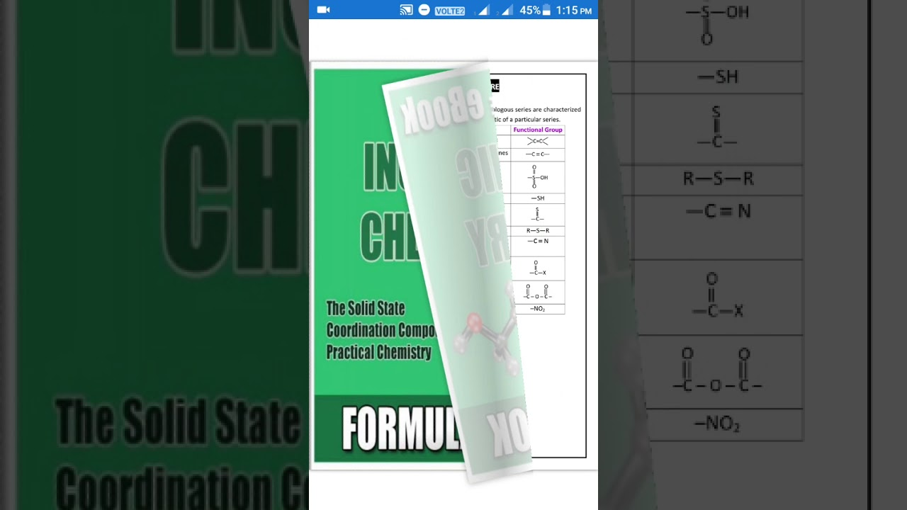 Best app for study organic chemistry in hindi