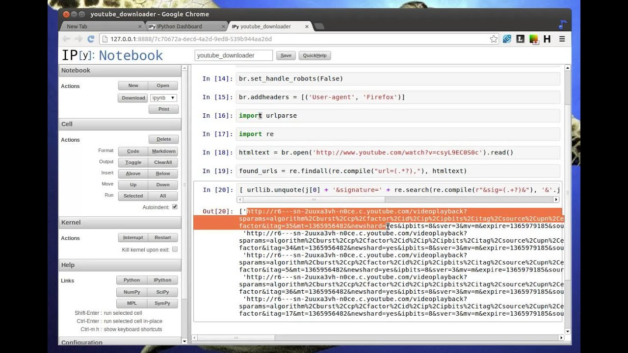Python Tutorial - Youtube Downloader Apps in 10 Lines of Codes