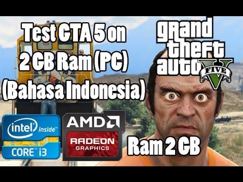 Cara Main GTA 4 Di Laptop/PC Low-End/Kentang 60 FPS. VGA IntelHD 100% Work RAM 2 GB.