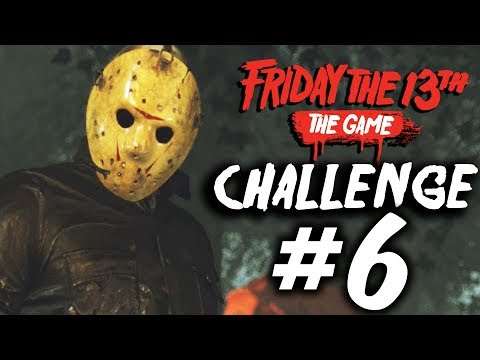 Single Player Challenge 6 - All Objectives - Friday the 13th: The Game
