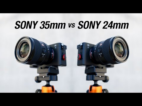 Sony 35mm 1.4 GM vs Sony 24mm 1.4 GM // WHICH LENS SHOULD YOU GET?