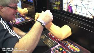 Over The Top - Arm Wrestling Video Arcade Machine - BMIGaming.com - Andamiro