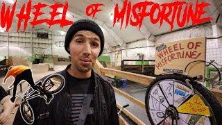 BMX WHEEL OF MISFORTUNE!
