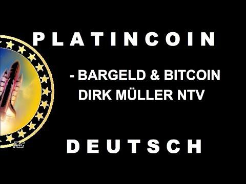 PLATINCOIN Bargeld & Bitcoin - Dirk Müller NTV | deutsch [PLC GROUP]