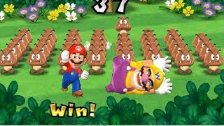 Mario Party 9 ☺ Step It Up #54 Mario vs Wario 💓 Games for kids 💓 Tuaone