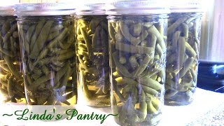 Home Canning Green Beans With Linda's Pantry~