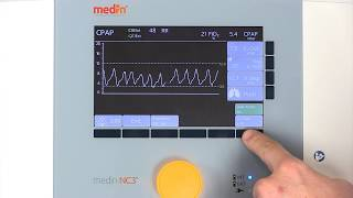 medin-NC3: CPAP with leak assist