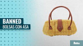 Bolsas Con Asa 2018, Los 10 Mejores Banned Productos: Banned Vintage Style Wicker basket Erin