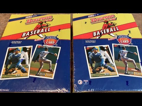 1993 Bowman Box Opening The Search For Derek Jeters