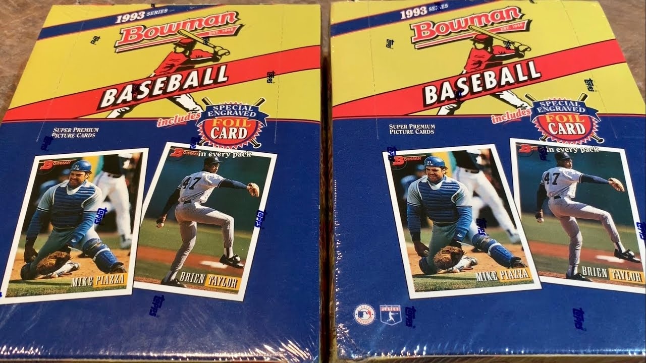 d3c9bac6be 1993 BOWMAN BOX OPENING & THE SEARCH FOR DEREK JETER'S ROOKIE CARD  (Throwback Thursday)
