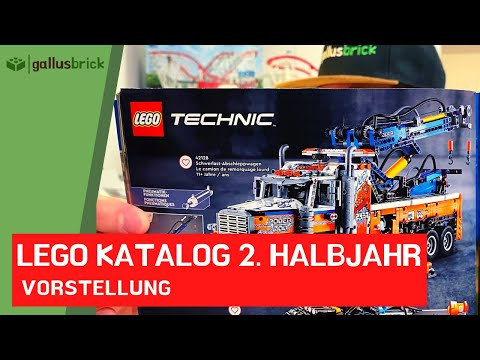 LEGO Katalog 2. Halbjahr 2021 vorgestellt. Mehr Tops als Flops?