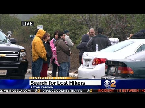 Crews Search For Missing Hikers In Eaton Canyon