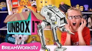 LEGO Star Wars AT-DP Pilot Unboxing and Review with ThatCrazyFamily | UNBOX IT