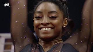 Simone Biles Performs Second Vault | Champions Series Presented By Xfinity