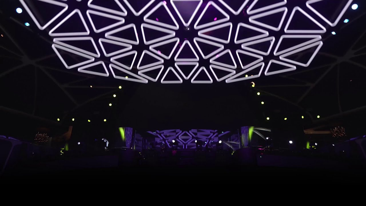 The Hakkasan Grid [Hakkasan Nightclub Las Vegas]