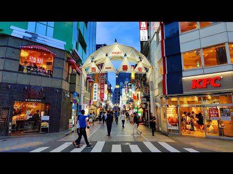 Walking In Tokyo Ikebukuro (池袋) Late Afternoon May 2020 - 4K 60 FPS - Slow TV