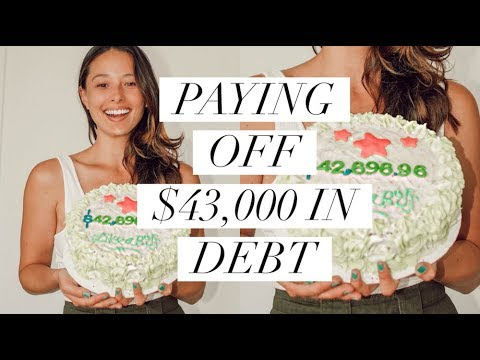 I Paid Off $43,000 In Debt In 8 Months | August Budget | Aja Dang