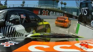 GoPro HD:  Ken Block RallyCross Race - X Games 2012