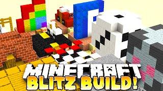 Minecraft - BLITZ BUILD! '5 MAN HYPE!' #2 - w/ THE PACK!