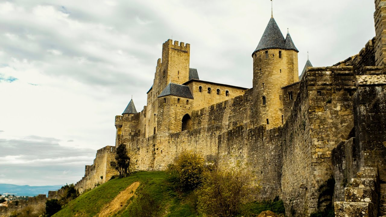 CARCASSONNE, FRANCE Castles of Carcassonne and Cathar   Ep. 20