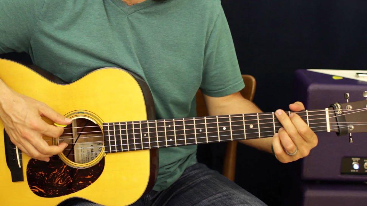 Cowboy Chord Progression Ideas Rhythm Acoustic Guitar Lesson