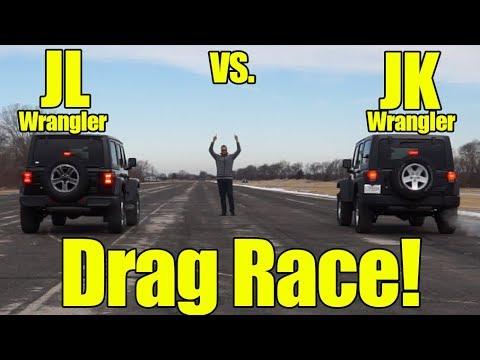 2018 Jeep Wrangler JL vs Wrangler JK! How Much Faster is the new JL Wrangler than the JK?