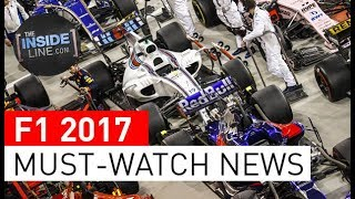 F1 NEWS 2017 - WEEKLY FORMULA 1 NEWS (7th November 2017) [THE INSIDE LINE TV SHOW]