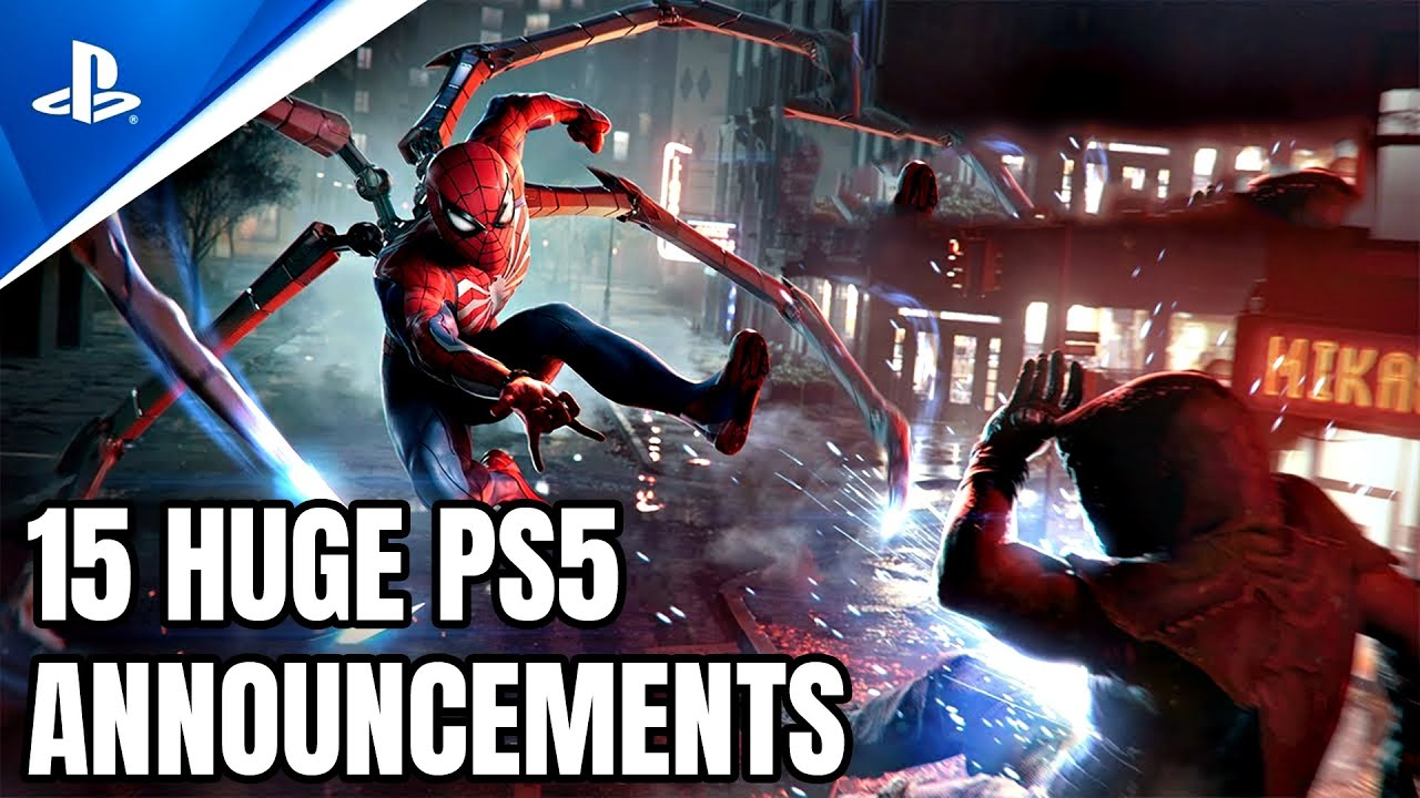 Download 15 BIGGEST NEW PS5 Game Announcements That Broke The Internet