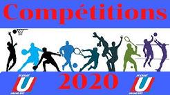 Présentation calendrier 1er semestre 2020