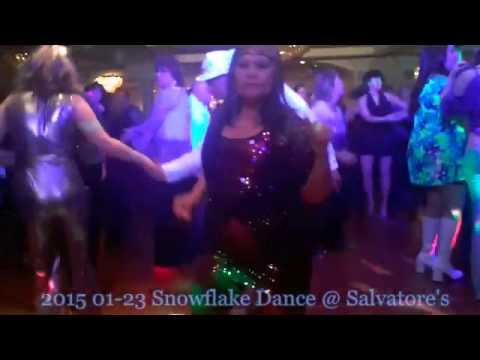 2017 01 23 Snowflake Disco Ball You
