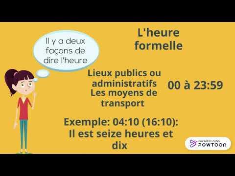 Download Lesson 6: Comment dire/demander l'heure en français