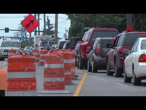Cleveland project on West 117th Street begins creating traffic delays and nervous businesses