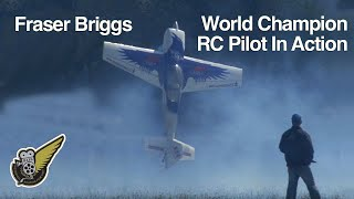 Extreme aerobatics with large RC plane