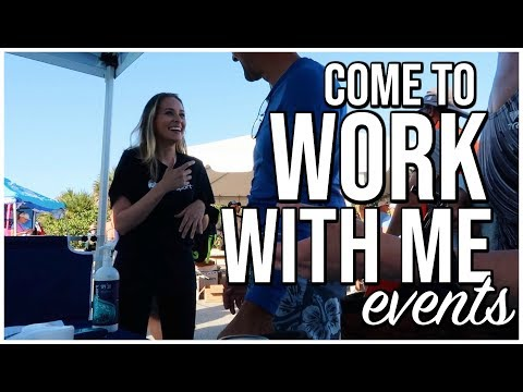 COME TO WORK WITH ME : EVENTS + GIVEAWAY  Weekend In My Life  Renee Amberg