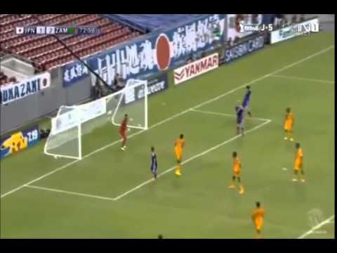 【日本 ザンビア 4-3 全ゴール(得点) ハイライト】ワールドカップ前最終試合 JAPAN ZAMBIA FIFA World Cup