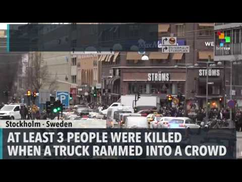 Deadly Truck Attack in Swedish Capital
