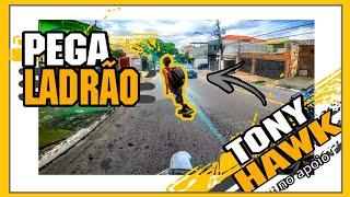 PEGA LADRÃO, PERSEGUIÇÃO DE SKATE + MOTO! ROUBOU DUAS VEZES E FOI PRESO! #EP18