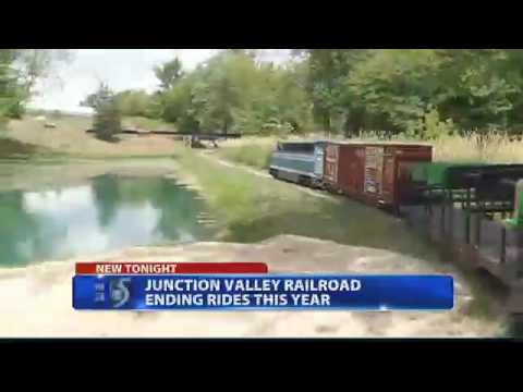 The End of the Junction Valley Railroad (WNEM News Report, July 7th 2016)