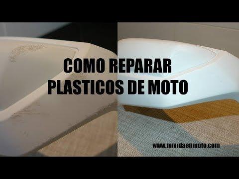 Como Reparar Plasticos De Moto Bricos Para Motos 4 Mi Vida En Moto Youtube