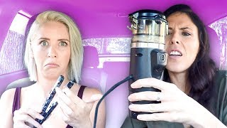 WE WAXED OUR NOSES! (Beauty Trippin)